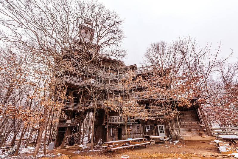The World's Tallest Treehouse, in Crossville, TN (Walter Arnold)