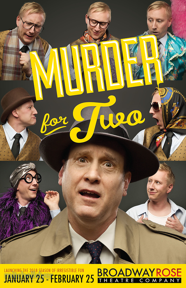 Clip | Broadway Rose Theatre Company – Murder For Two