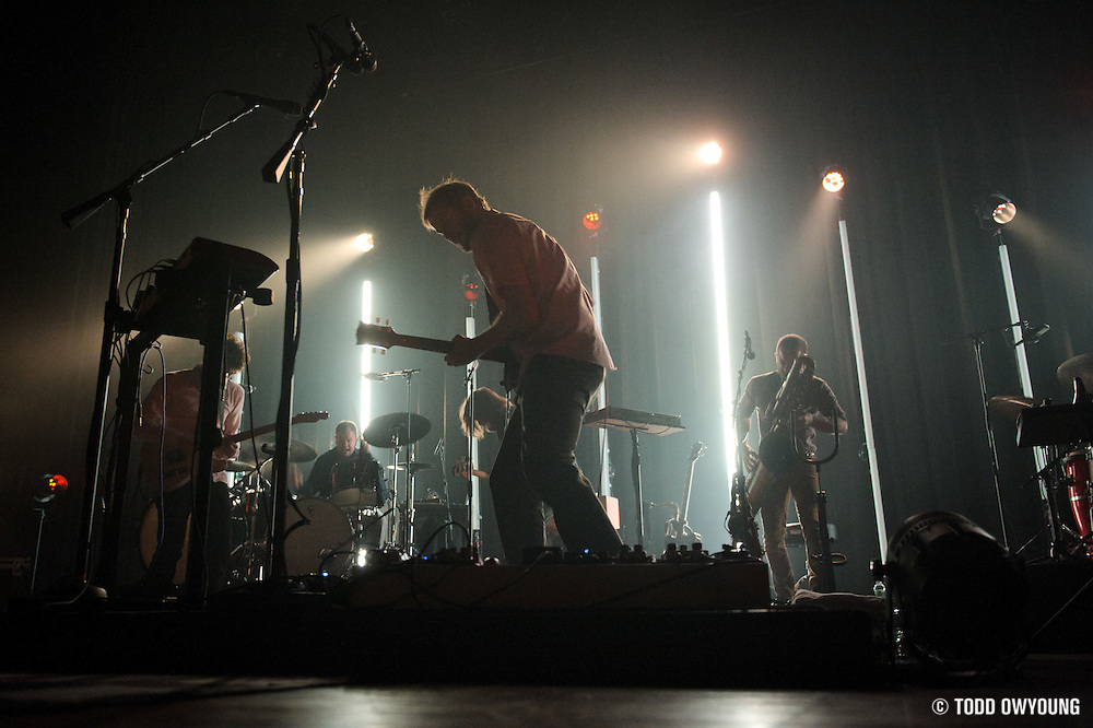 Bon Iver performing at the Pageant in St. Louis, Missouri on August 20, 2011. © Todd Owyoung. (Todd Owyoung)