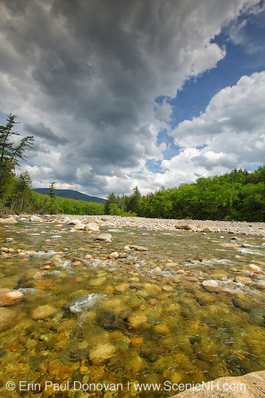 East Branch of the Pemigewasset River in Lincoln, New Hampshire.