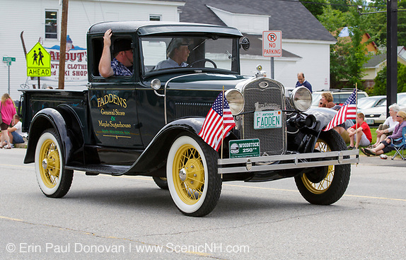 Lincoln-Woodstock 4th of July parade in Lincoln, New Hampshire.