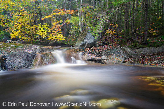 Harvard Brook in the White Mountains, New Hampshire.