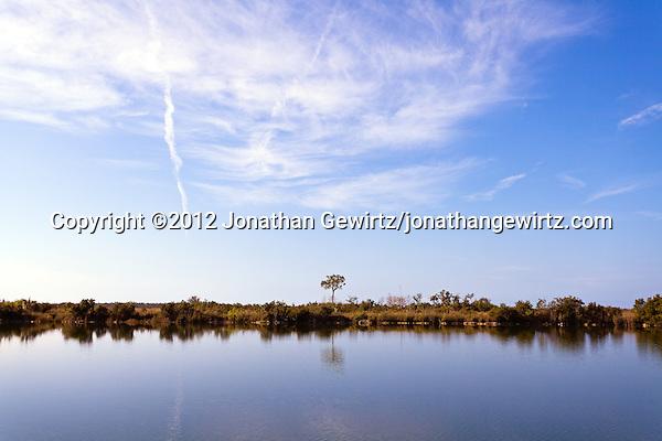 A tranquil pond in Everglades National Park, Florida. (© 2012 Jonathan Gewirtz / jonathan@gewirtz.net)