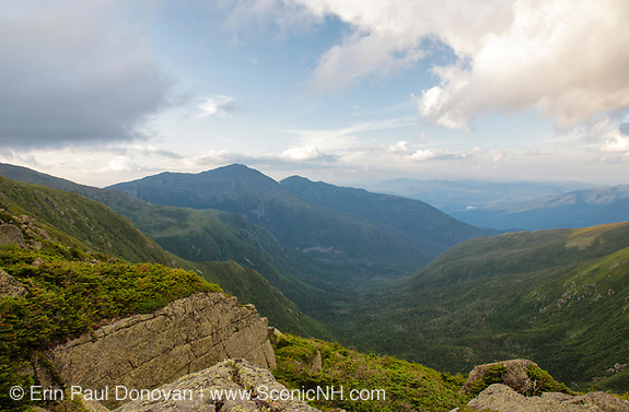 Great Gulf Wilderness from along the Appalachian Trail in the White Mountains, New Hampshire.
