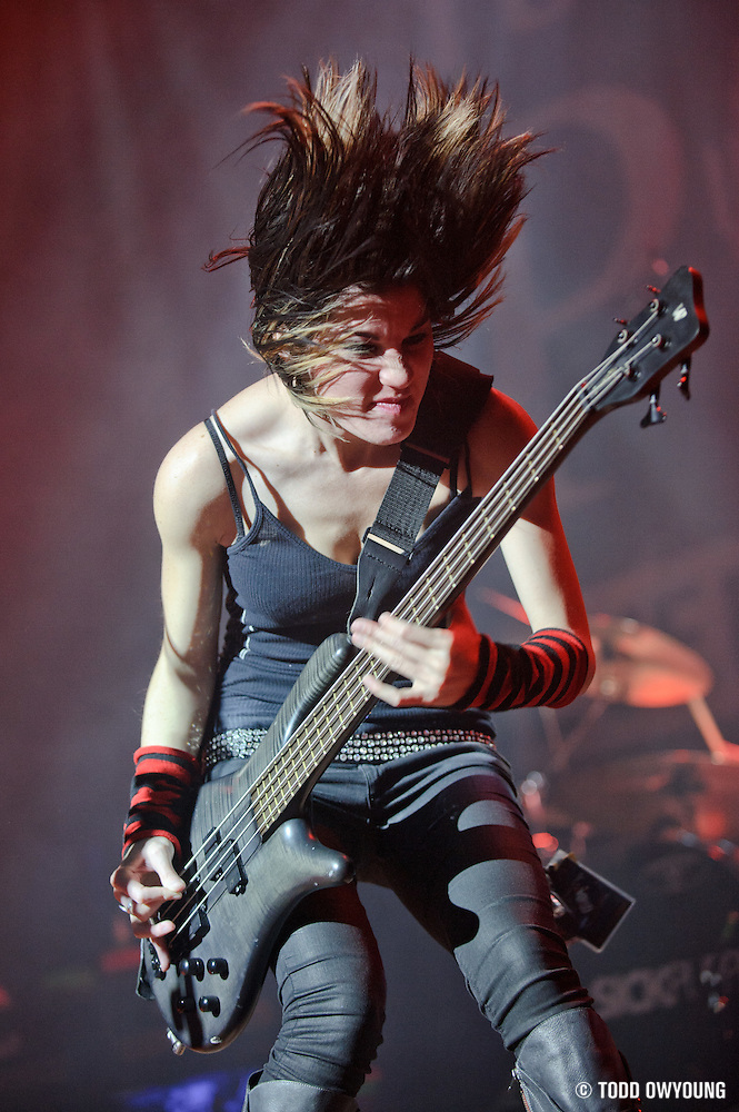 Photos of Sick Puppies performing on December 13, 2010 at the Pageant in St. Louis, Missouri. (Todd Owyoung)
