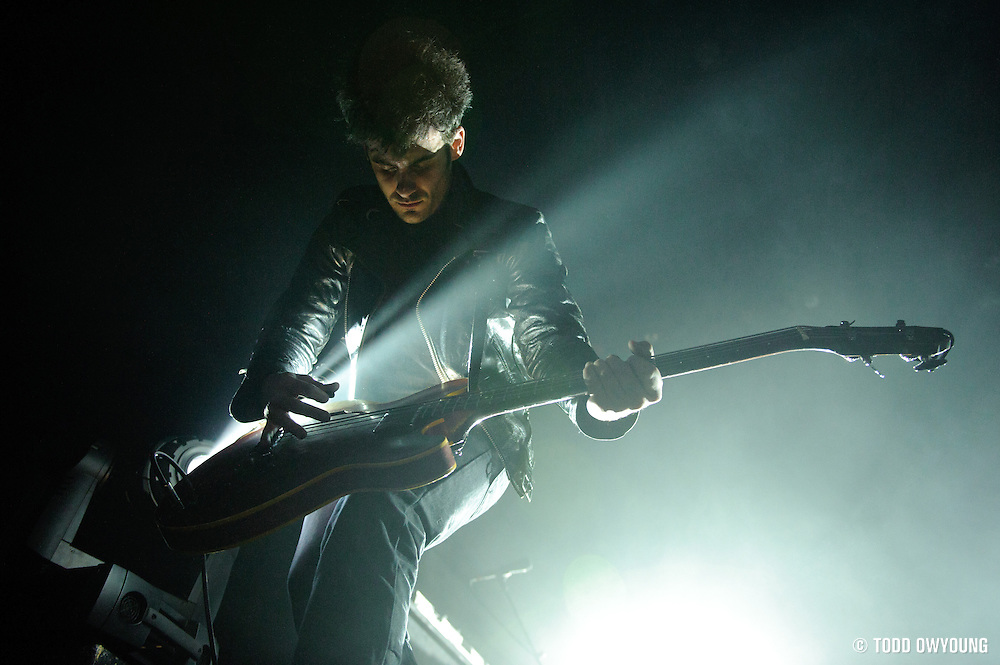 Photos of Black Rebel Motorcycle Club performing live at the Pageant in St. Louis on March 23, 2010. (TODD OWYOUNG)