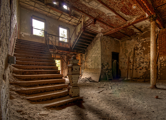 The Abandoned Jackson Sanatorium in Dansville NY. (Walter Arnold)