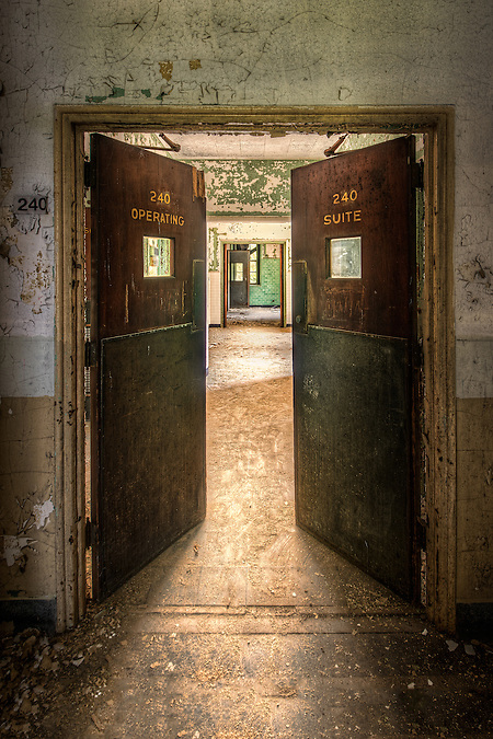 The old Marine Hospital in the French Fort area of Memphis, TN. (Walter Arnold)