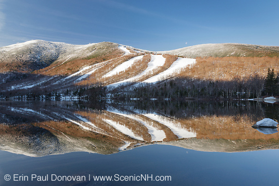 Franconia Notch State Park - Cannon Mountain with Echo Lake in the foreground during the spring months in the White Mountains, New Hampshire USA (Erin Paul Donovan/Erin Paul Donovan | ScenicNH.com Photography)