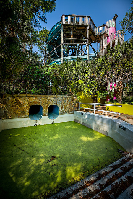Wild Waters - Abandoned Water Park - Ocala, FL (©Walter Arnold Photography 2018)