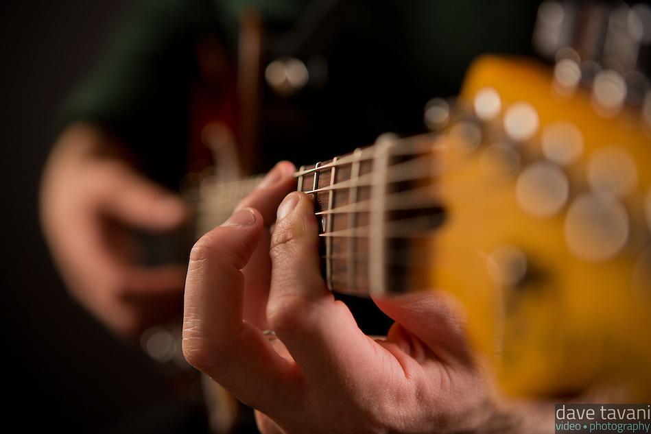 Erik Dutko, jazz guitarist (Dave Tavani)