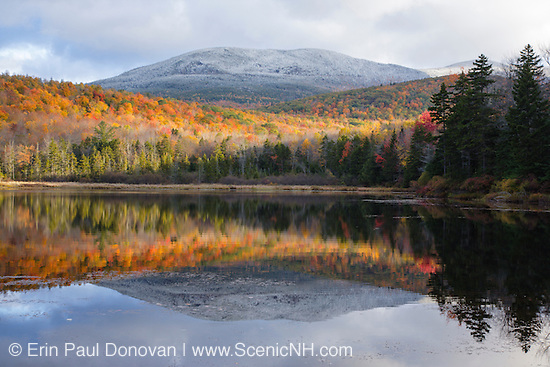 White Mountains Lakes & Ponds. Sandwich Notch - Kiah Pond during the autumn months in Sandwich, New Hampshire.