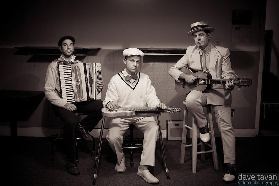 The Gatsby Brothers (David Streim, Isaac Stanford, Jet Weston). (Dave Tavani)