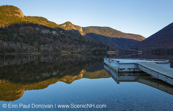 Franconia Notch State Park - Reflection of Eagle Cliff in Echo Lake during the autumn months in the White Mountains, New Hampshire USA (ScenicNH Photography LLC | Erin Paul Donovan)