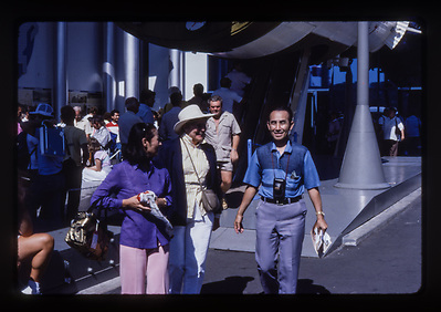 1986, Visitors from Japan, Expo '86, Vancouver, BC. Photo by Peter J. Noakes.