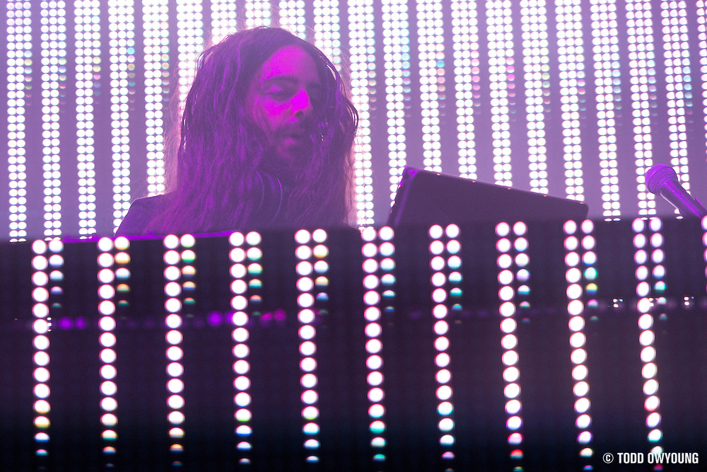 Photos of EDM artist Bassnectar performing at the Chaifetz Arena in St. Louis on October 6, 2012. (Todd Owyoung)