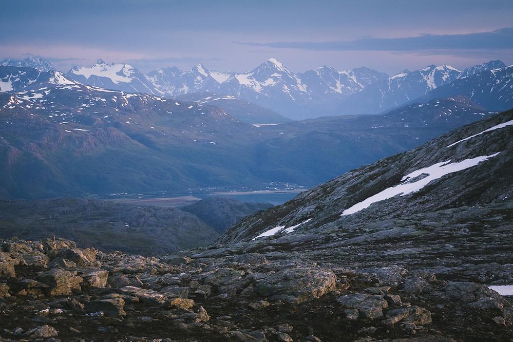 Blue Hour | White night in high country near Storslett, Norway (Davis Ulands/Ⓒ Davis Ulands | davisulands.com)