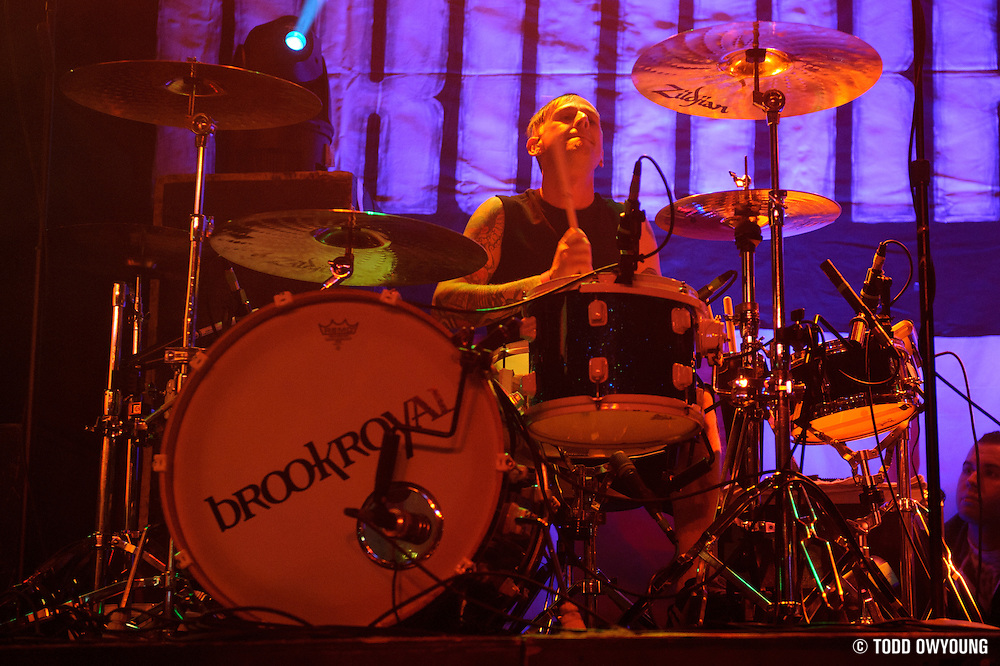 Brookroyal opening for Greek Fire at Pop's in Sauget, IL at the Point HoHo show on December 17, 2011. (Todd Owyoung)